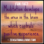 1 fun fact meditation