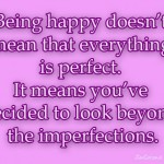 1 look past imperfection