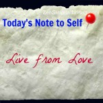 1 notetoself live love