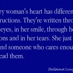 1 womans heart
