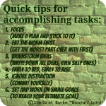 2 accomplishment tips
