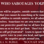 4 who sabotages you