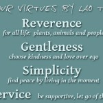 8 four virtues