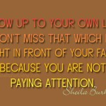 8 pay attention